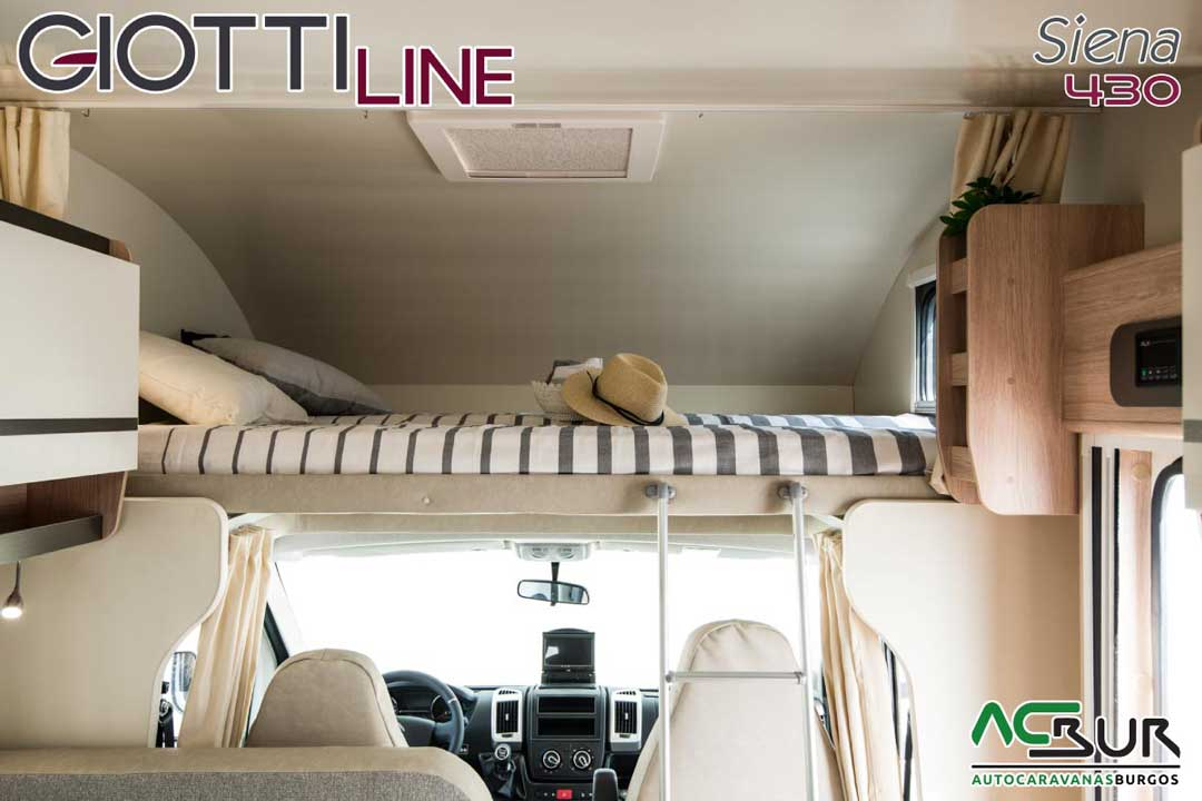 Autocaravana GiottiLine Siena 430 2020 buhardilla