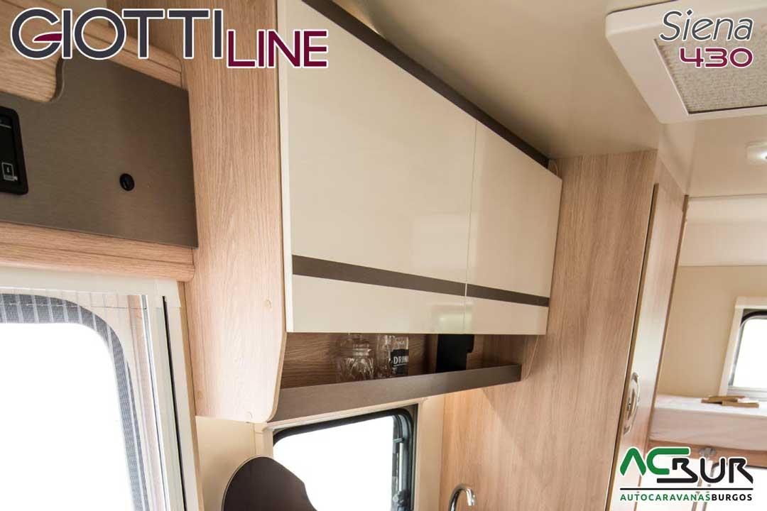 Autocaravana GiottiLine Siena 430 2020 armarios