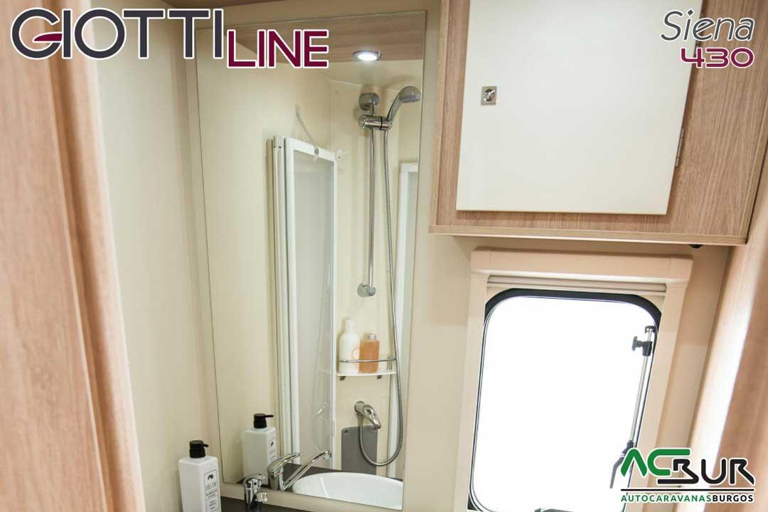 Autocaravana GiottiLine Siena 430 2020 baño