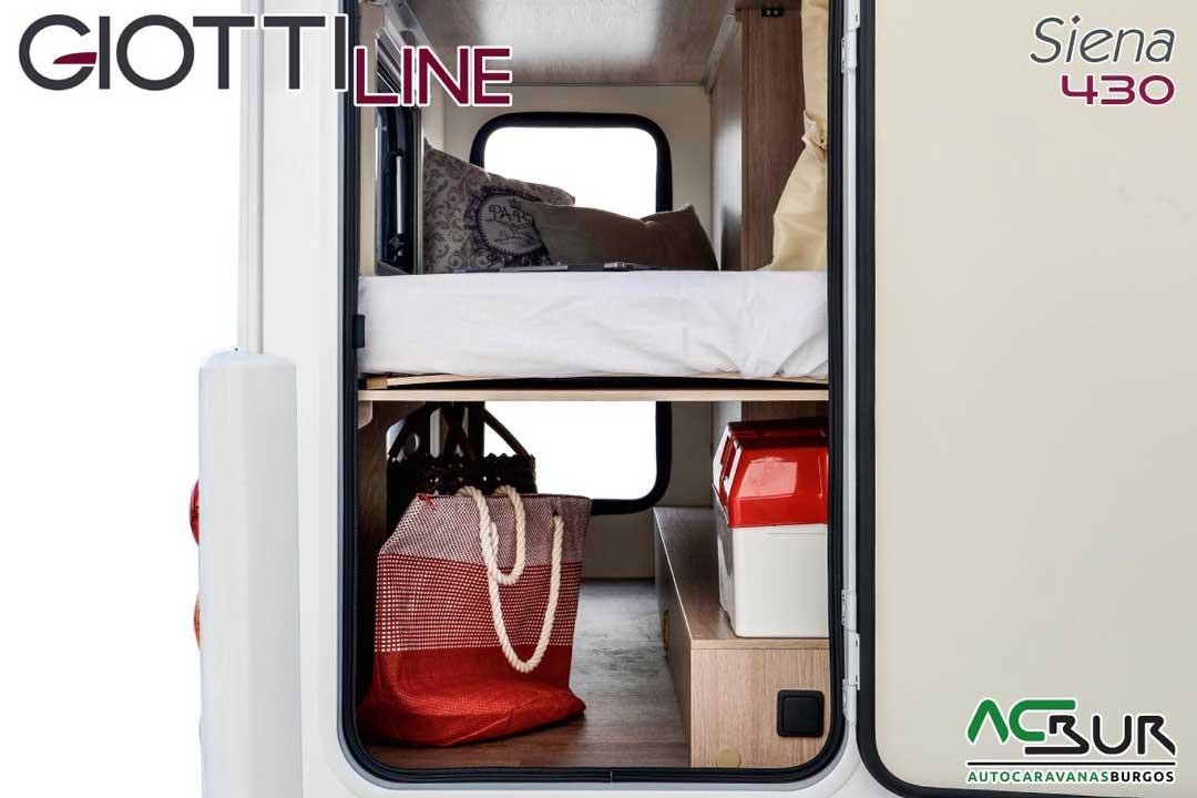Autocaravana GiottiLine Siena 430 2020 garaje