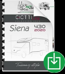 Autocaravana GiottiLine Siena 430 2020 catálogo