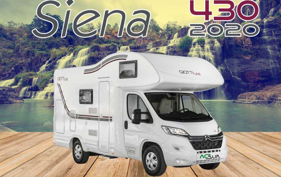 Autocaravana GiottiLine Siena 430 2020 mosaico