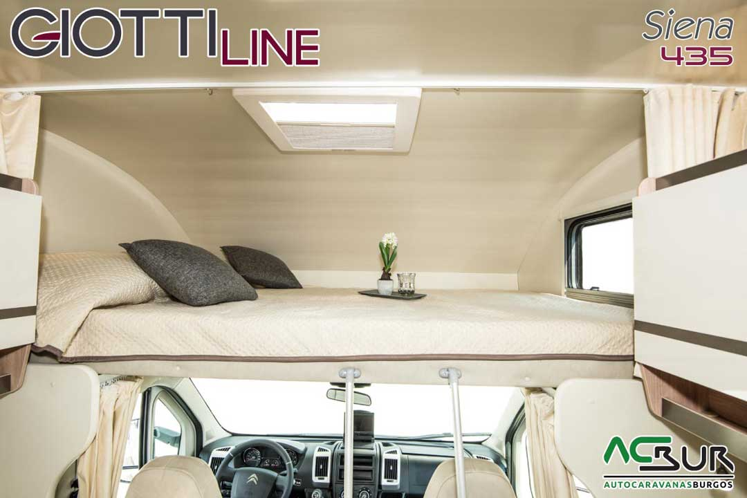 Autocaravana GiottiLine Siena 435 2020 cama