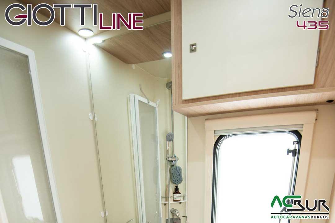 Autocaravana GiottiLine Siena 435 2020 baño