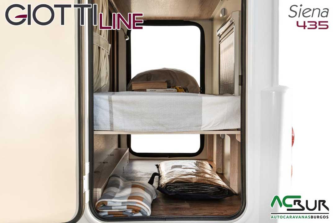 Autocaravana GiottiLine Siena 435 2020 garaje