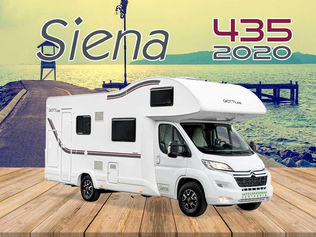Autocaravana GiottiLine Siena 435 2020 mosaico