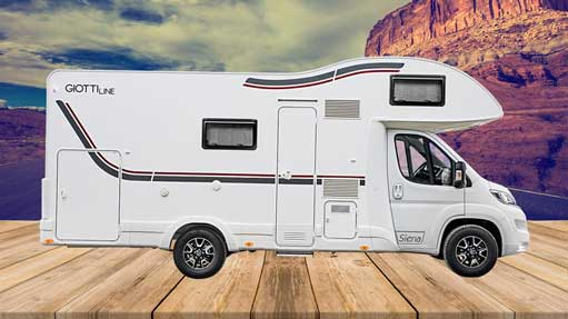 Autocaravana GiottiLine Siena 440 2020 lateral 2