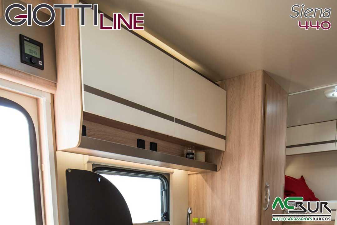 Autocaravana GiottiLine Siena 440 2020 armarios