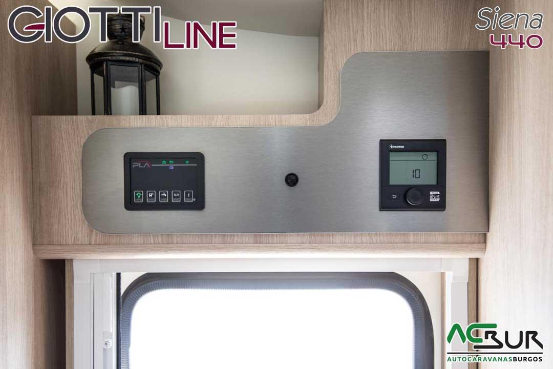 Autocaravana GiottiLine Siena 440 2020 panel