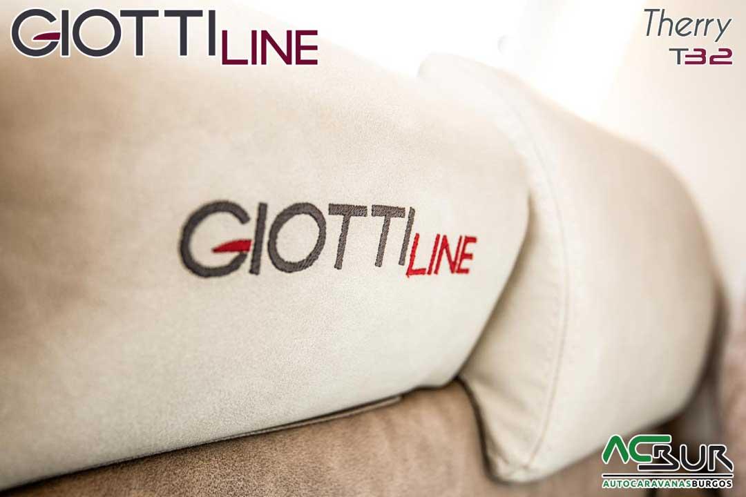 Autocaravana GiottiLine Therry T32 2020 bordados