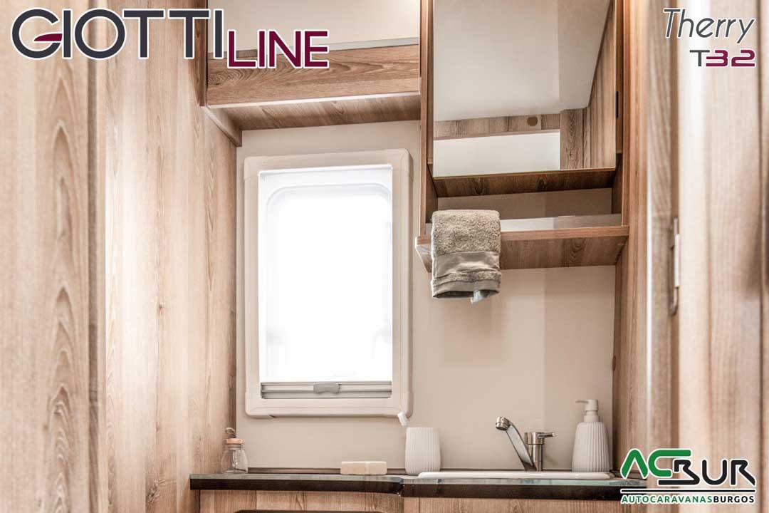 Autocaravana GiottiLine Therry T32 2020 baño
