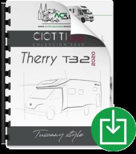 Autocaravana GiottiLine Therry T32 2020 Catálogo