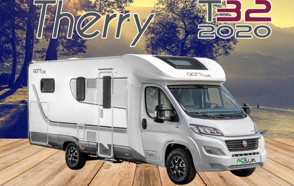 Autocaravana GiottiLine Therry T32 2020 Mosaico