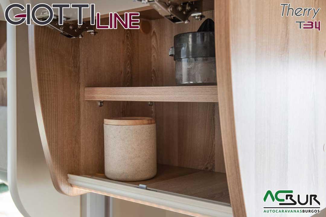 Autocaravana GiottiLine Therry T34 2020 armarios cocina