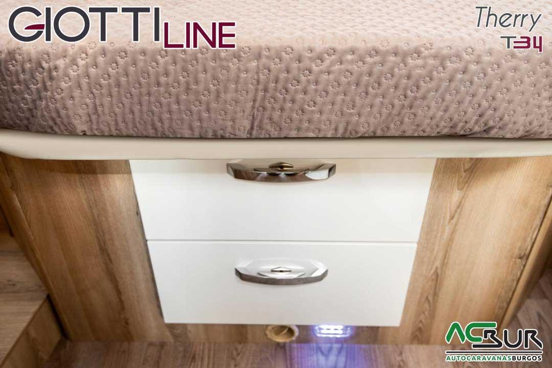 Autocaravana GiottiLine Therry T34 2020 armarios