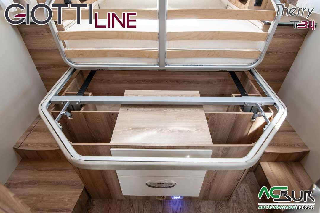 Autocaravana GiottiLine Therry T34 2020 somier