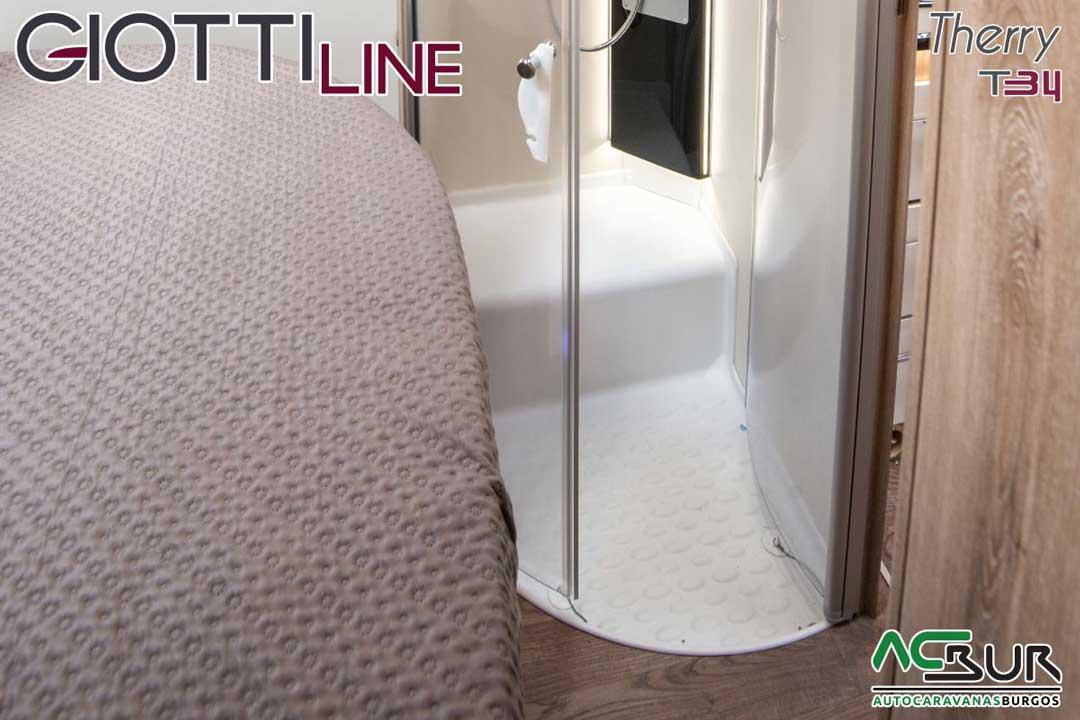 Autocaravana GiottiLine Therry T34 2020 ducha