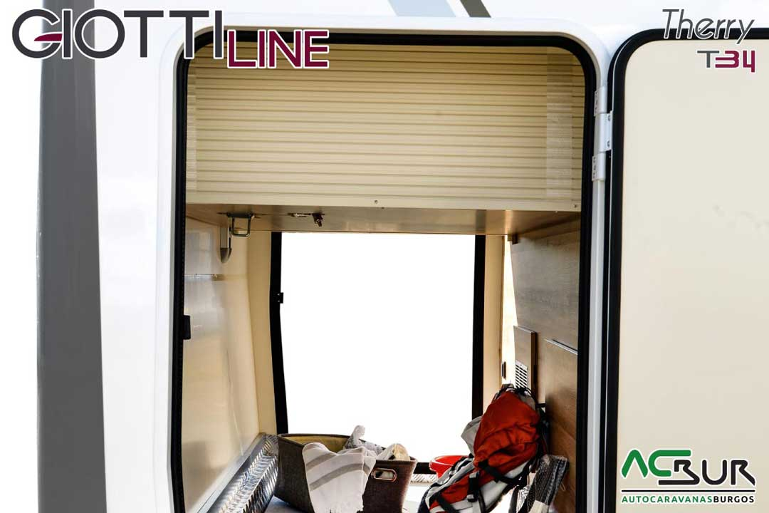 Autocaravana GiottiLine Therry T34 2020 trastero