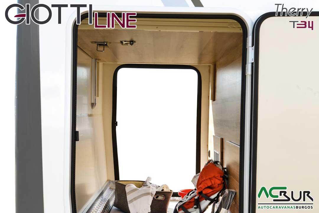 Autocaravana GiottiLine Therry T34 2020 garaje