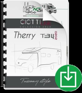 Autocaravana GiottiLine Therry T34 2020 Catálogo