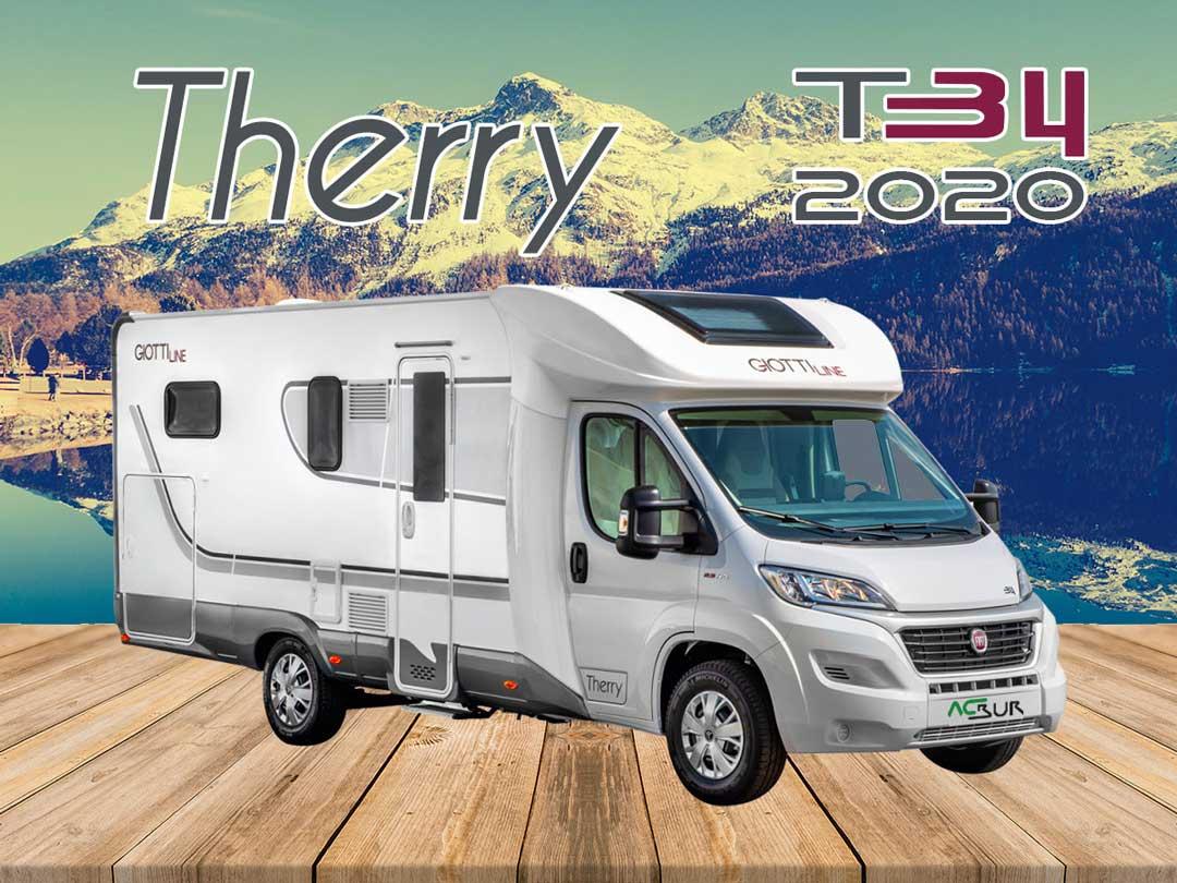 Autocaravana GiottiLine Therry T34 2020 mosaico