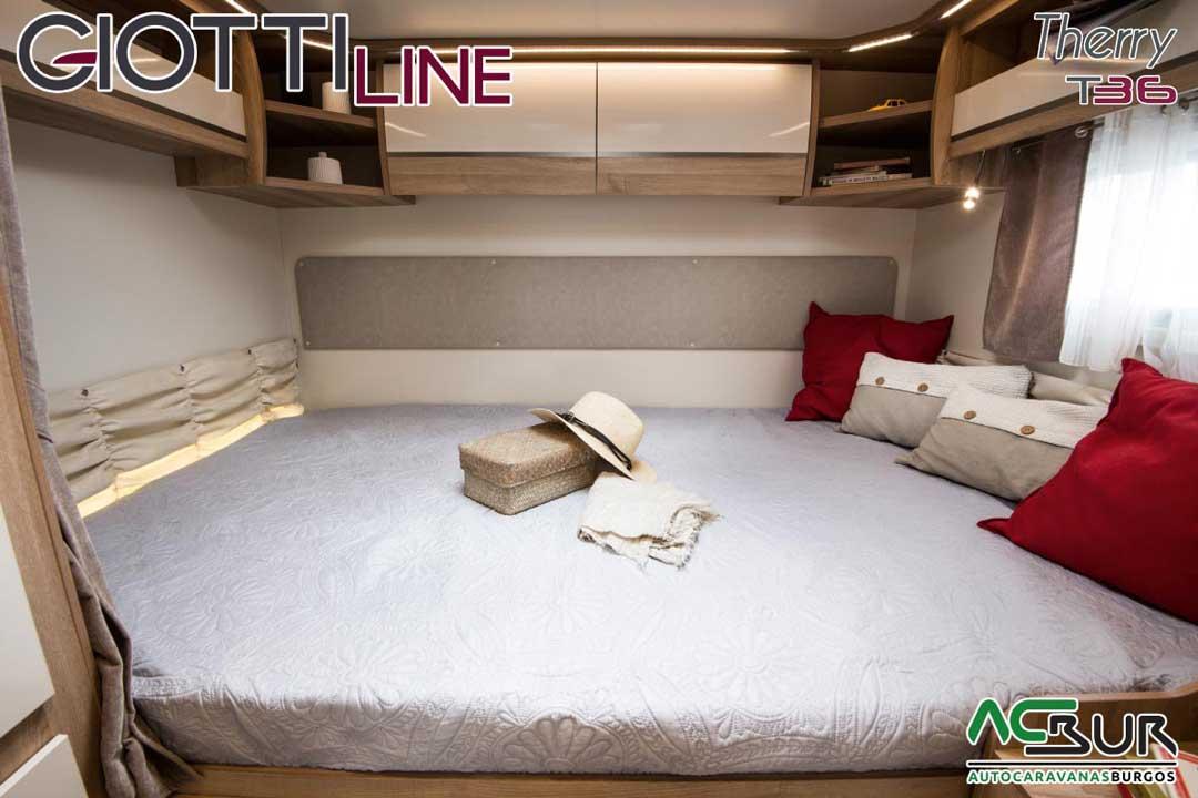 Autocaravana GiottiLine Therry T36 2020 dormitorio