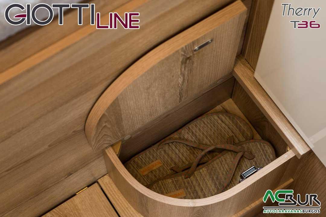 Autocaravana GiottiLine Therry T36 2020 armarios