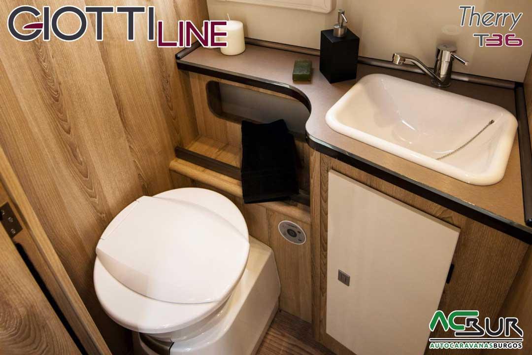 Autocaravana GiottiLine Therry T36 2020 baño