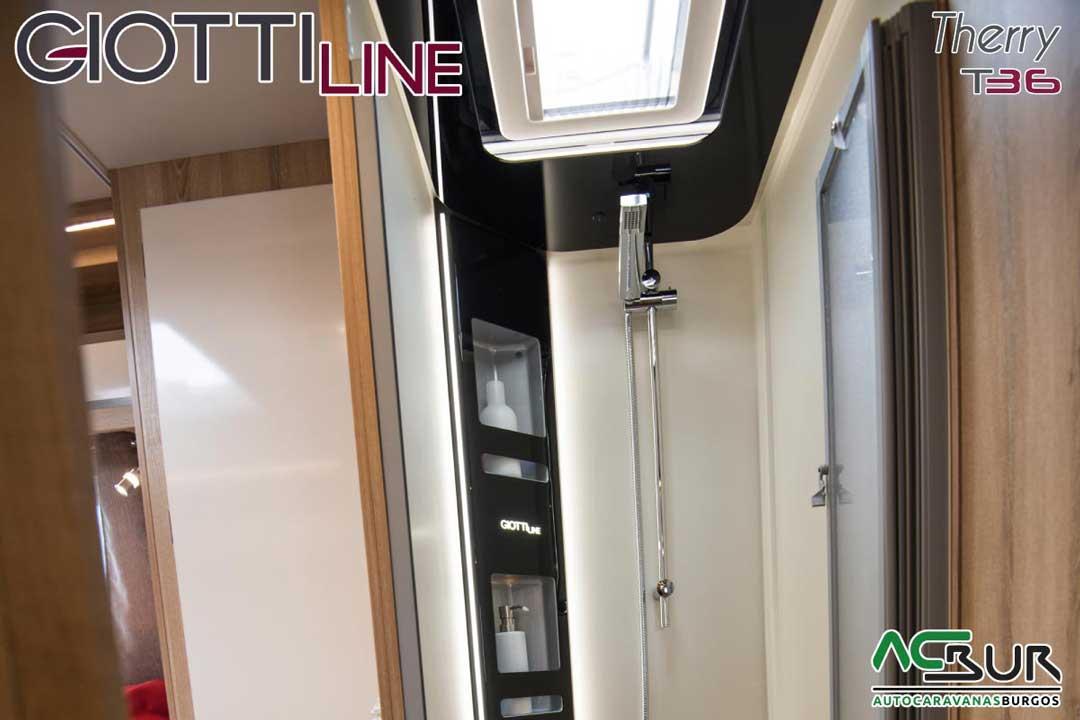 Autocaravana GiottiLine Therry T36 2020 ducha