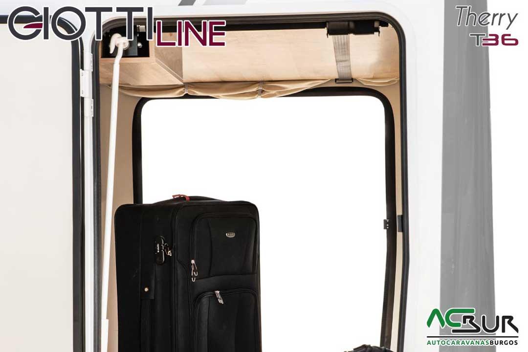 Autocaravana GiottiLine Therry T36 2020 garaje