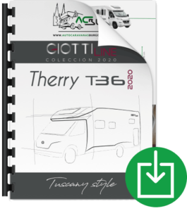 Autocaravana GiottiLine Therry T36 2020 catálogo