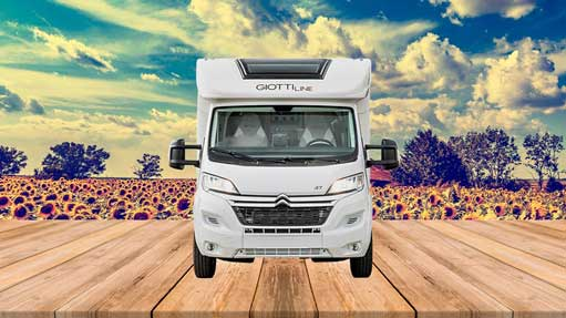 Autocaravana GiottiLine Therry T37 2020 frontal