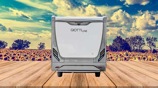 Autocaravana GiottiLine Therry T37 2020 trasera