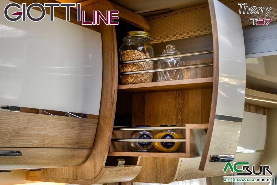 Autocaravana GiottiLine Therry T37 2020 armarios abatibles