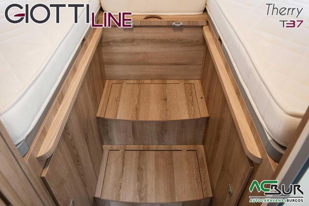 Autocaravana GiottiLine Therry T37 2020 almacenaje