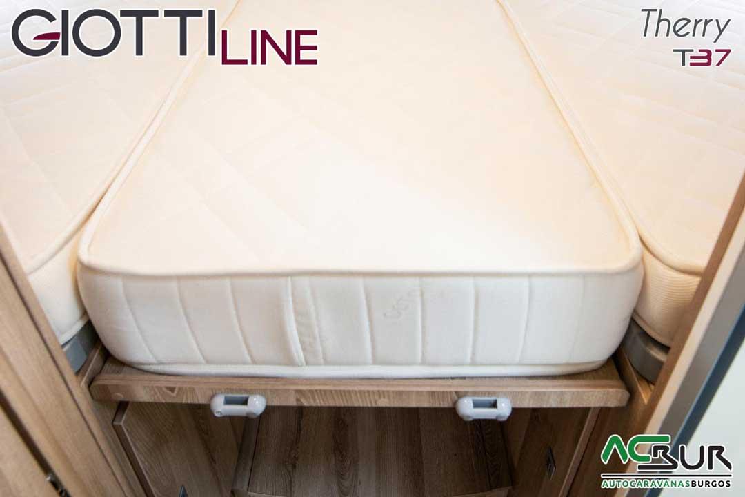 Autocaravana GiottiLine Therry T37 2020 colchones