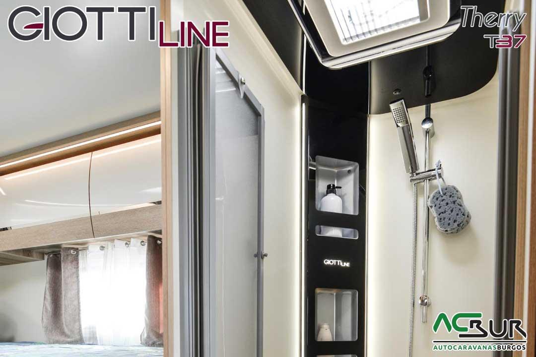 Autocaravana GiottiLine Therry T37 2020 ducha