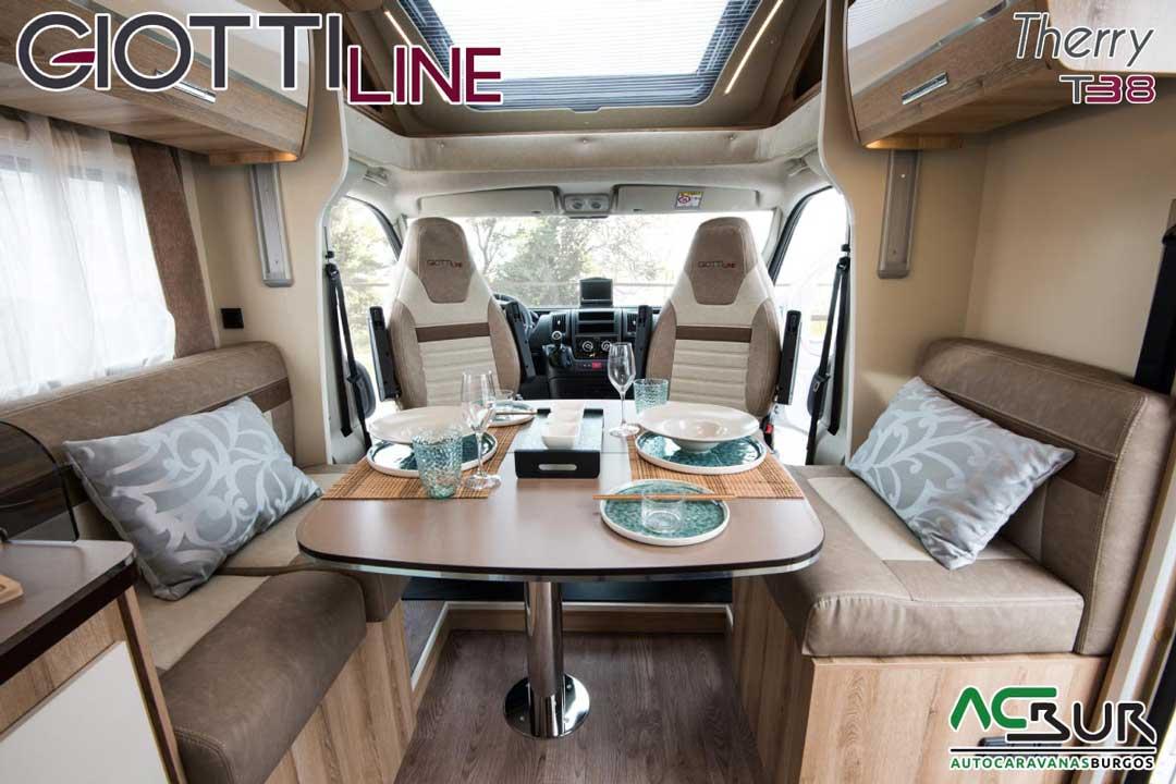 Autocaravana GiottiLine Therry T38 2020 salón