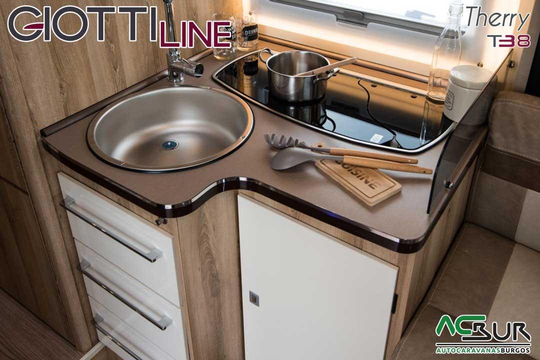 Autocaravana GiottiLine Therry T38 2020 cocina