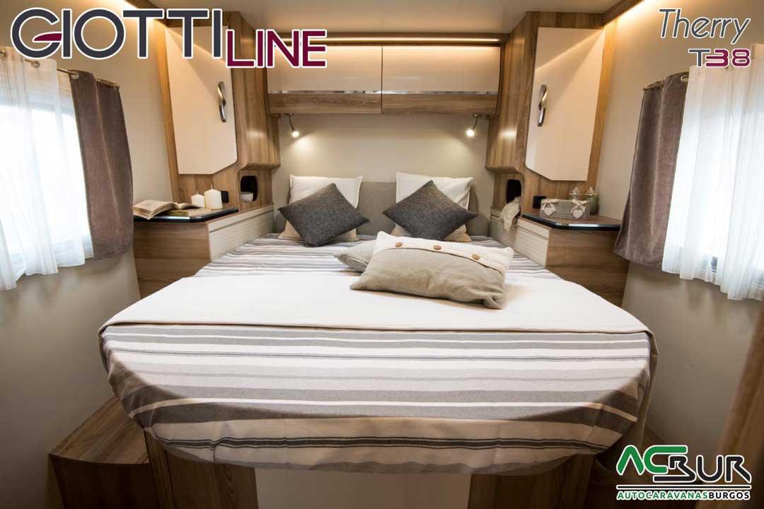Autocaravana GiottiLine Therry T38 2020 dormitorio