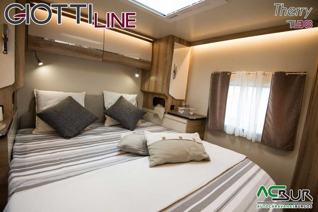 Autocaravana GiottiLine Therry T38 2020 cama