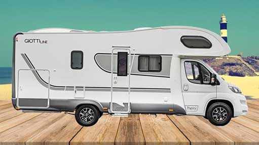 Autocaravana GiottiLine Therry T45 2020 lateral 2