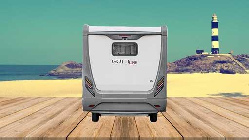 Autocaravana GiottiLine Therry T45 2020 trasera