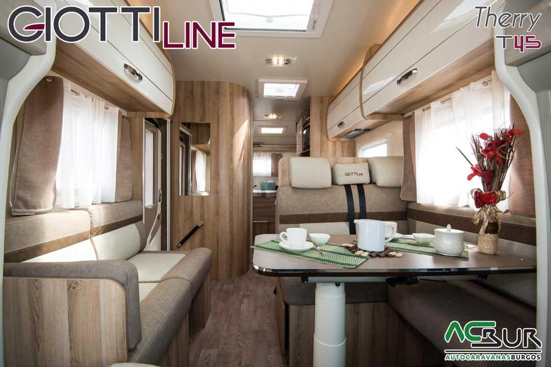 Autocaravana GiottiLine Therry T45 2020 salón