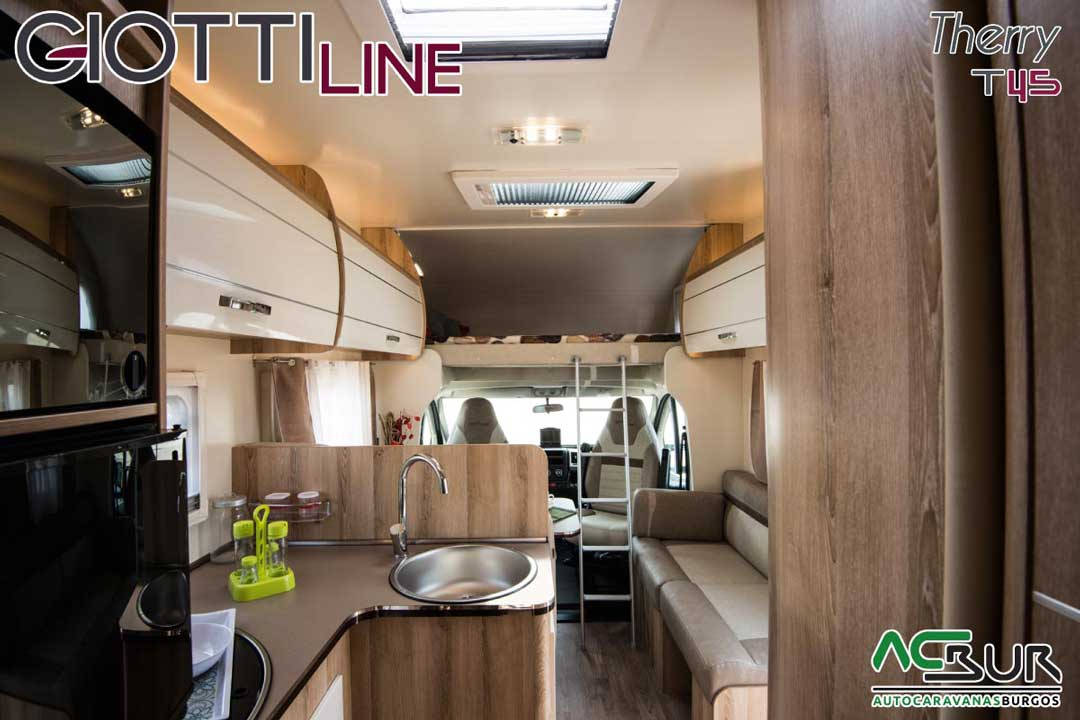 Autocaravana GiottiLine Therry T45 2020 interior