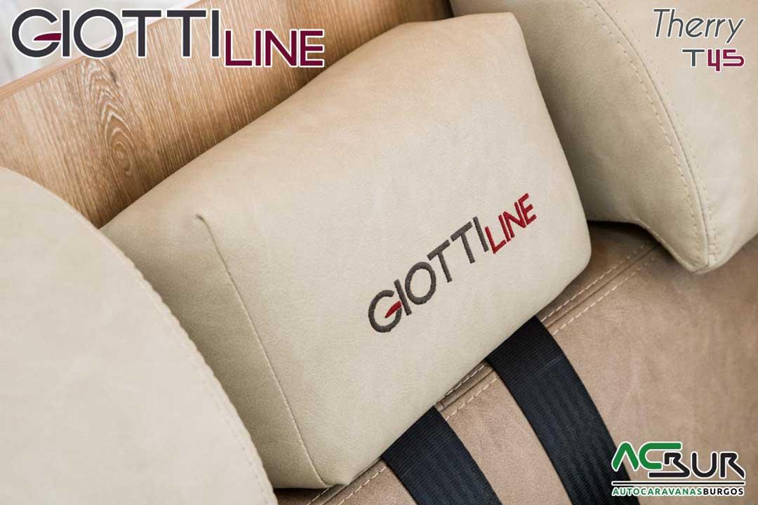 Autocaravana GiottiLine Therry T45 2020 bordados
