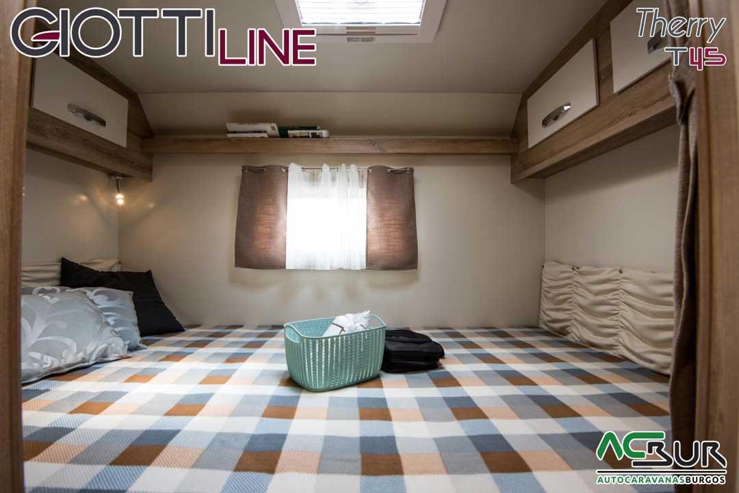 Autocaravana GiottiLine Therry T45 2020 dormitorio