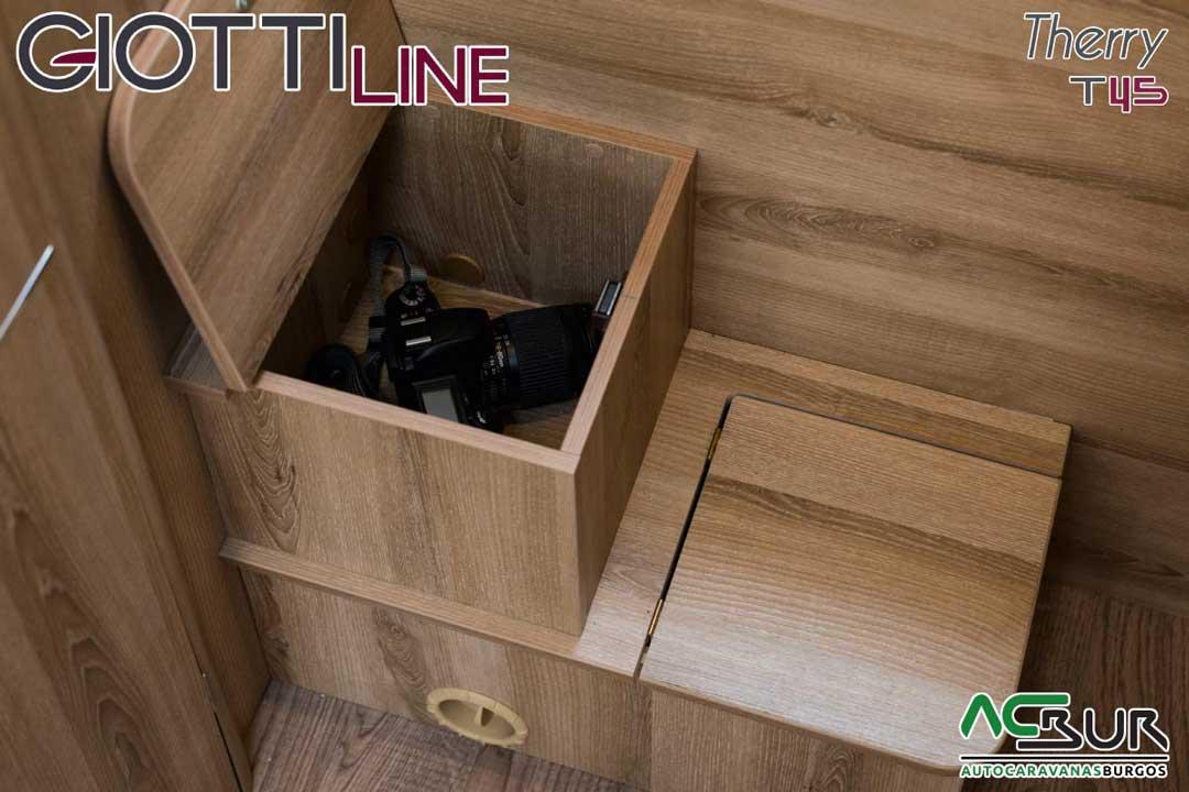 Autocaravana GiottiLine Therry T45 2020 armarios