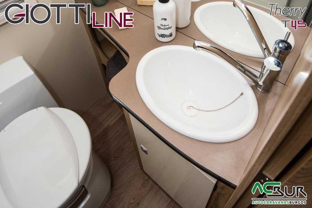 Autocaravana GiottiLine Therry T45 2020 aseo