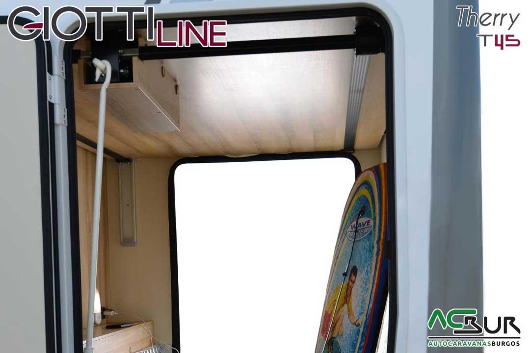 Autocaravana GiottiLine Therry T45 2020 garaje